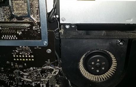 iMac dusty fan