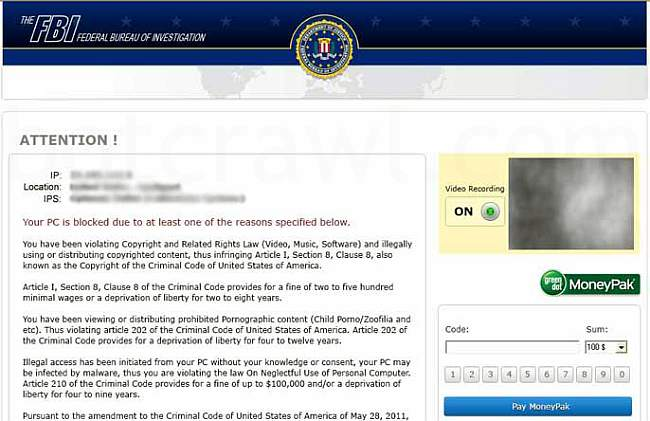 Chicago FBI virus removal