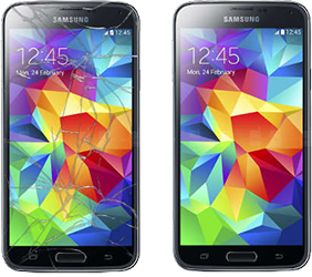 chicago Samsung Galaxy cracked screen repair glenview